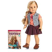Amazoncom American Girl Tenney Grant Doll And Book Toys Games