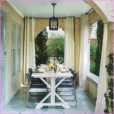 Cheap Patio Curtains Outdoor