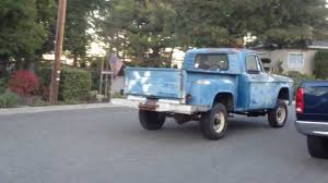 1964 Dodge D100 4x4 Test Drive Around The Block - YouTube 1964 Dodge D100 Base Model Trucks And Cars Pinterest The 1970 Htramck Registry Vintage Advertising Photos Page Pickup Ram Ramcharger Cummins Jeep Brekina A 100 Cargo Van Assembled Railway Express For Sale 440 Race Team Replica For Truck Blk Garlitsocala110412 Youtube Diesel Med Tonnage Models Pd Pc 500 600 Sales For Sale Classiccarscom Cc1122762 Excellent 196470 A100 Dodges Late Hemmings Find Of The Day Panel Van Daily Original Dreamsicle