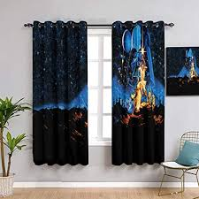 decorative curtains the rise of skywalker st ar wa rs for bedroom window curtain fabric w55 x l39