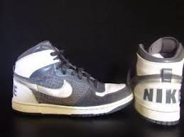 Image Is Loading Vintage Nike High Top Shoes Size 12 White