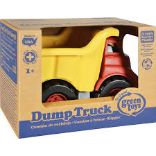 Green Toys Dump Truck - Need Help Hauling A Big Load While Helping ...