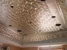 sheet metal ceiling ideas tin ceiling panels faux tin ceiling
