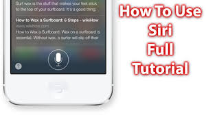 How To Use Siri iOS 7 & iOS 8 iPhone 5s 5c iPad and iPod