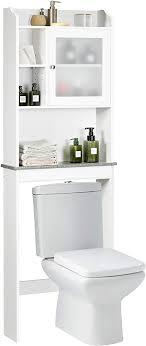 giantex badezimmer stauraum saver mit ablage sammeln schrank weiß 1 door w multi shelves weiß