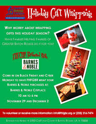 Barnes & Noble – Gift Wrapping FundraiserFamilies Helping Families