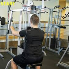 rear pec deck machine need a stronger bench press start your rear delts