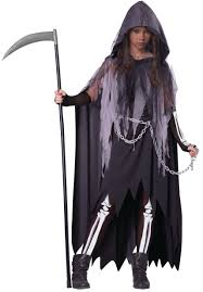 Scary Characters For Halloween by Miss Reaper Scary Kids Costume Mr Costumes