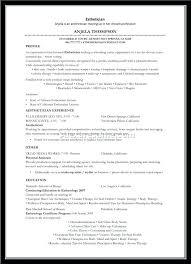 Massage Resume Therapist Samples