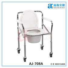 Handicap Toilet Chair With Wheels by Commode Chair Parts Commode Chair Parts Suppliers And