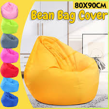 Extra Large Bean Bag Chairs Cover For Adults Kids Couch Sofa Cover Indoor  Lazy Lounger【NO FILLING】 Top 10 Bean Bag Chairs For Adults Of 2019 Video Review 2pc Chair Cover Without Filling Beanbag For Adult Kids 30x35 01 Jaxx Nimbus Spandex Adultsfniture Rec Family Rooms And More Large Hot Pink 315x354 Couch Sofa Only Indoor Lazy Lounger No Filler Details About Footrest Ebay Uk Waterproof Inoutdoor Gamer Seat Sizes Comfybean Organic Cotton Oversized Solid Mint Green 8 In True Nesloth 100120cm Soft Pros Cons Cool Desain