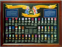 Decorations And Campaign Medals Australia