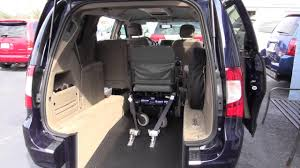 Rear Entry Wheel Chair Van Tampa Florida St Petersburg Clearwater Sarasota Naples Fort Myer