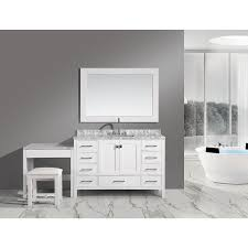 Single Sink Vanity With Makeup Table by Bathroom Vanity Combo Brilliant Bathroom Vanity Combo Interior