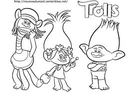 Imprimable】 Coloriage Les Trolls à Imprimer Coloriage à Imprimer