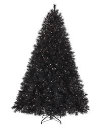 Pre Lit Christmas Tree Rotating Stand by Tuxedo Black Artificial Christmas Tree Treetopia