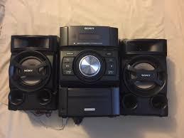 Sony Mhc ec69i Hi fi Mini Shelf Home Stereo System iPod Dock