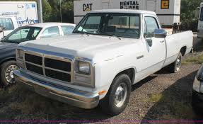 1992 Dodge Ram D150 Pickup Truck | Item AJ9307 | SOLD! Octob...
