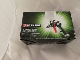 Parkside Air Sandblaster Gun PDSP 1000 B2 Tes Air Paint Spray Gun Pdfp 500 B2