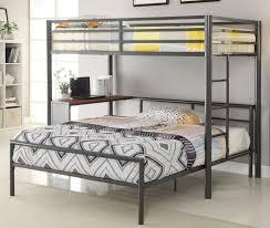 bunk beds metal bunk beds twin over full bunk beds walmart full