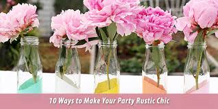 Milk Bottles The Perfect Rustic Party Decorations