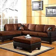 Buchannan Faux Leather Sectional Sofa by Living Room U0026 Family Room Furniture Kmart