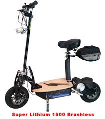 Super Lithium 1500 Brushless Electric Scooter