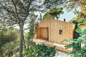 100 Tree House Studio Wood Dom Arquitecturas Is Efficient Prefab