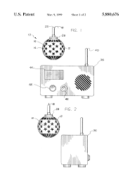 Neuman Christmas Tree Bags by Patent Us5880676 Christmas Tree Ornament Shaped Fire Alarm