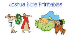 Joshua Bible Story Board Printables Here Is A Set Of Colorful Full Size You Can Use To Retell The Your Children Mount These