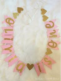 Pink And Gold Birthday Decorations Canada by 19 Best Alannahs First Birthday Images On Pinterest Pink Gold