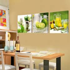 Prints Canvas Painting Dining Room Decorative Picture Paintings Modern Flower Kitchen Wall Decor Pictures No