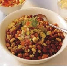 cuisine mexicaine haricots rouges à la salsa mexicaine recettes de cuisine mexicaine