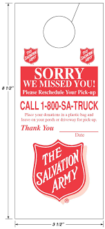 Salvation Army Door Hanger By Allen-Bailey | Family (Thrift) Stores ... Roseburg Salvation Army Installs Four Drop Boxes Outside For After Wants To Organize Joint Rponses Disasters The Disappoints Huffpost Dation Pickup Request Habitat Humanity Of Greenville County Shopping At Thrift Stores In Brooklyn Murray Dunn Gm Is A Nipawin Buick Chevrolet Gmc Dealer And New Kmov St Louis Helps So Many Our C Md On Twitter Addition 2 Disaster Home Please Truck Donated Fort Smith Goodwill Industries Middle Tennessee Inc Services