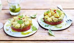 cuisiner les noix de st jacques surgel馥s 2 tartares de jacques aux tomates confites et au basilic
