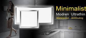 1pcs office bathroom kitchen lighting aluminum ceiling light l