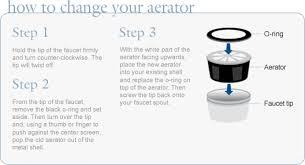 Remove Faucet Aerator Moen by Cfg Aerators