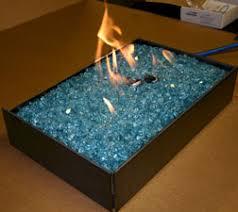 Propane Pan Burners Fireplace Glass self installation