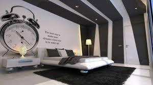 deco noir et blanc chambre chambre moderne noir blanc gris