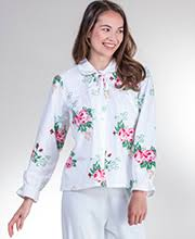 Chenille Bed Jacket by Bed Jackets Collection Serene Comfort