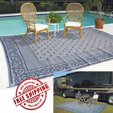 Fleur De Lis Reversible Patio Mats by Camping Rugs Home Design Ideas And Inspiration