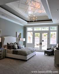 Tray Ceiling Paint Ideas by Transitional Cream Bedroom With Tray Ceiling An Idea For Paint