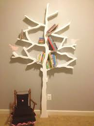 100 Tree Branch Bookshelves Walls Under Construction DIY Bookshelf