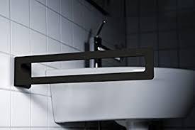 radius design puro handtuchhalter schwarz kleben
