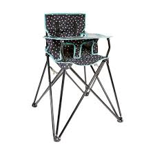 Cosco Flat Fold High Chair by The Most Camping High Folding Chair Kmart Concerning Folding High