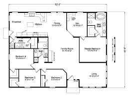 Triple Wide Modular Homes Floor Plans by The Mt Adams 5g42524a Manufactured Home Floor Plan Or Modular