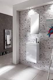 sam waschtisch 40 x 22 cm badezimmer waschplatz in weiß