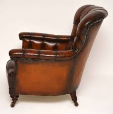 Stunning Antique Victorian Leather Armchair | 429276 ... Early Victorian Mahogany And Leather Armchair C 1850 United 19th Century Pair Of English Armchairs For Sale Stunning Antique Marylebone Antiques Quality 1870 England From Deep Buttoned C1850 429276 Burgundy Gentlemans Chairs Accent Chair Whit Oval Back And Arm Occasional Ideas