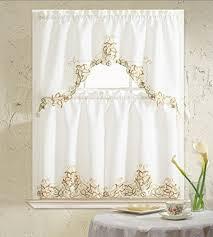 kitchen curtains set amazon com