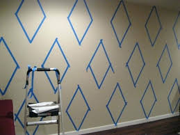 Wall Paint Designs Innovative Decoration Patterns How To Diamond Pattern On Your Or Interior